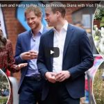 Kate William and Harry to Pay Tribute Princess Diana with Visit The White Garden at Kensington Pala
