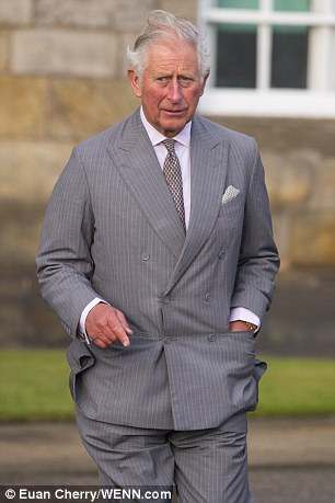 LOW PROFILE Charles wants to avoid being caught in a storm