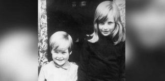 Lady Diana Spencer with her brother Charles Earl Spencer in Viscount Althorp at their home in Berkshire U.K. Photo C CENTRAL PERESS GETTY IMAGES