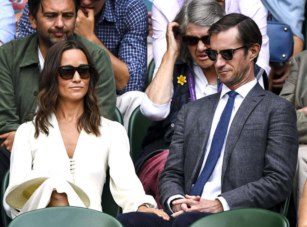 Mr. and Mrs. James Matthews stepped out in support of their close pals,' entrepreneur Jöns Bartholdson and Anna Ridderstad Photo (C) JAVIER GARCIA, BII, REX, SHUTTERSTOCK