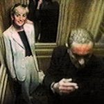 Pictured on CCTV footage a smiling Diana stands inside a lift at The Ritz at 4.35pm on Saturday 30 August