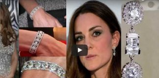 Prince Charles Presented Kate Middleton With Diamonds Earrings & Bracelet Jewels Set As Wedding Gift