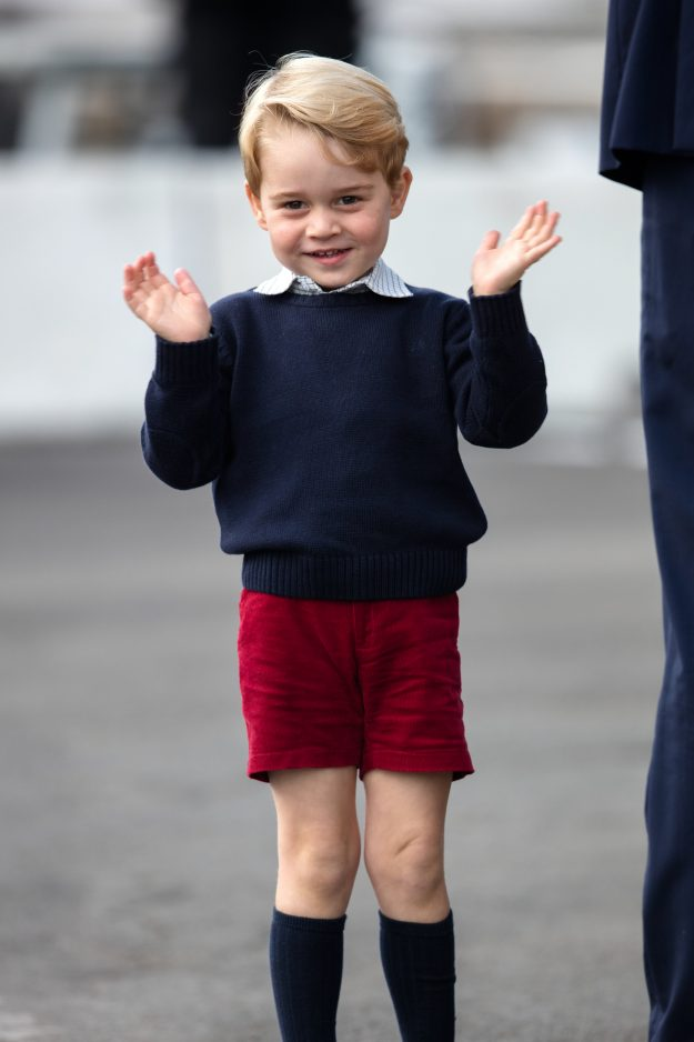 Prince George wil start school in September [Getty]