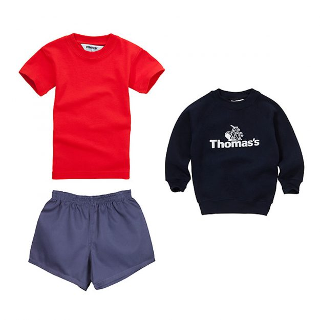 Prince George's sports school kit [John Lewis]