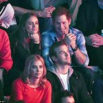 Prince Harry and Cressida Bonas at the inaugural We Day event hosted by Save The Children at Wembley Arena