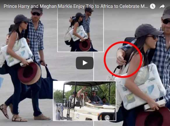 Prince Harry and Meghan Markle Enjoy Trip to Africa to Celebrate Meghan's 36th Birthday