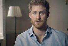 Prince Harry speaking on the BBC documentary on Diana Photo (C) BBC