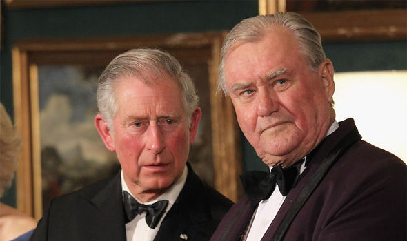 Prince Henrik of Denmark, right, said he does not want to be buried with his wife, the Queen Photo (C) GETTY