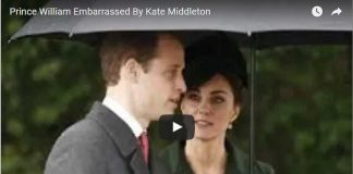 Prince William Embarrassed By Kate Middleton