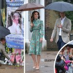 Prince William and Kate attend Princess Dianas memorial garden Photo C REUTERS