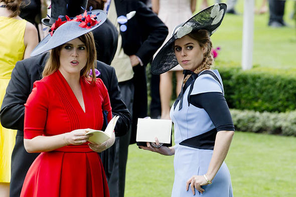 Princess Beatrice and Princess Eugenie are the Duke of York's daughters Photo (C) GETTY