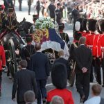 Princess Diana's coffin with the Welsh Guard Photo C EPA