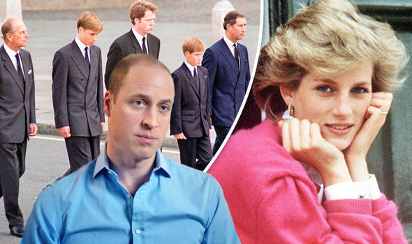 Princess Diana, 7 Days Prince William reveals mother 'walked beside him' at funeral Photo (C) GETTY
