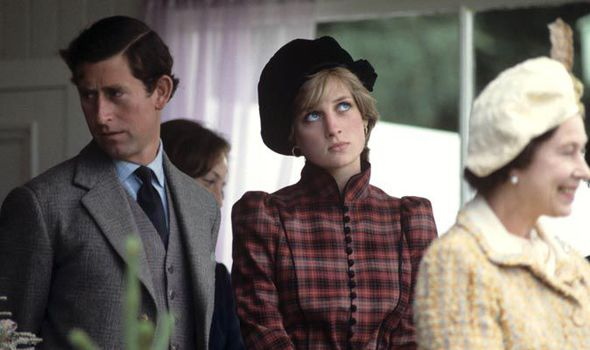 Princess Diana and Prince Charles pictured in Scotland in 1981 Photo (C) REX FEATURE