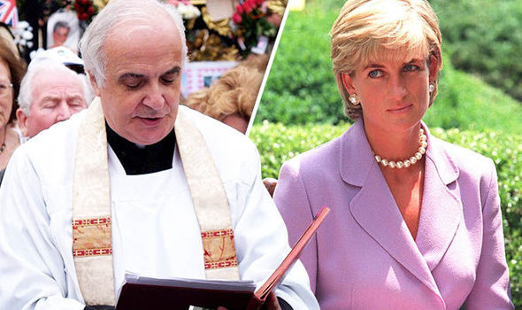 Father Frank Gelli spoke with an excited Diana shortly before the fateful crash Photo c GETTY