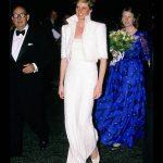 Princess Diana at the British Fashion Awards at the Royal Albert Hall Photo C GETTY