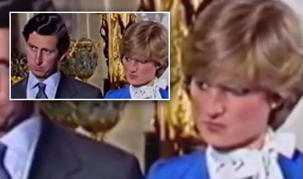Princess Diana engagement video What did her body language really reveal Photo (C) YOUTUBE