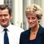Princess Diana pictured with her butler Paul Burrell three years before her death Photo C GETTY IMAGES