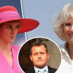 Princess Dianas death was a gift and a curse for Camilla Parker Bowles Paul Burrell said Photo C GETTY