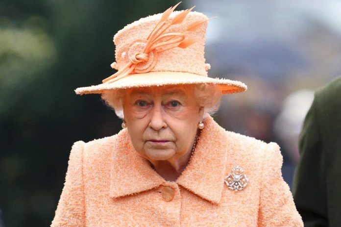 Queen Elizabeth II Sad Photo (C) GETTY IMAGES