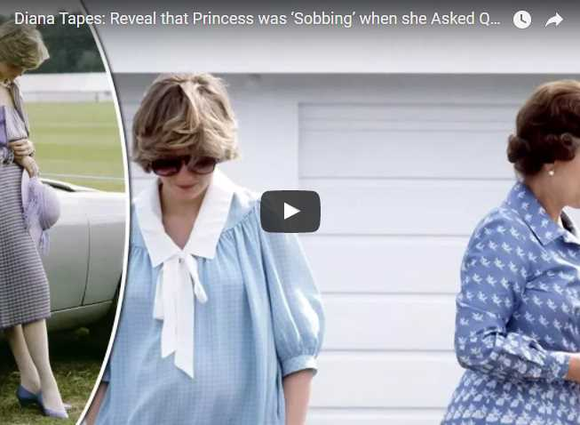 Reveal that Princess was 'Sobbing' when she Asked Queen for Help