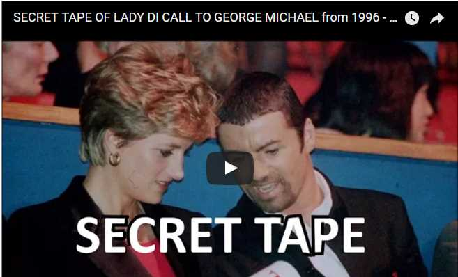 SECRET TAPE OF LADY DI CALL TO GEORGE MICHAEL from 1996 Princess Diana divorce Prince Charles
