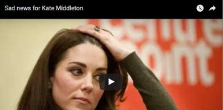 Sad news for Kate Middleton