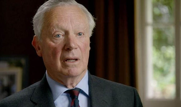 Claps echoed around the Abbey after Lord Spencers speech Photo C ITV