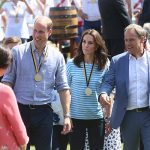 The Duchess won a consolatory medal for her efforts despite coming second in the race
