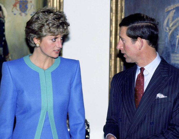 The Prince and Princess of Wales during a visit to Ottawa in Canada, 1991 Photo (C) GETTY IMAGES