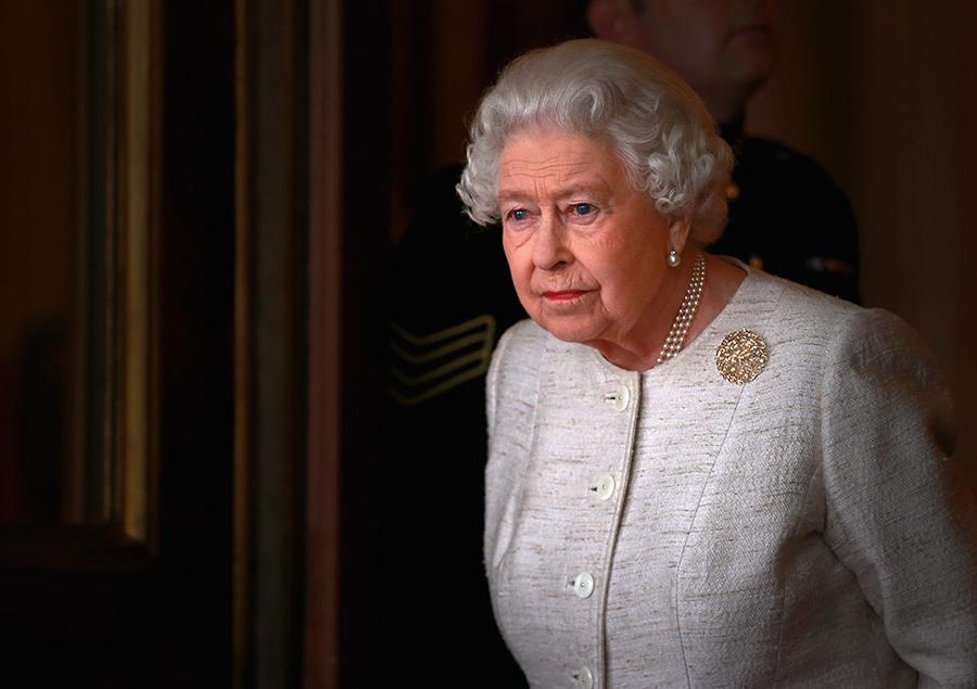 Queen Elizabeth II upset crying photo C GETTY