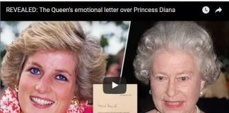 The Queen's emotional letter over Princess Diana