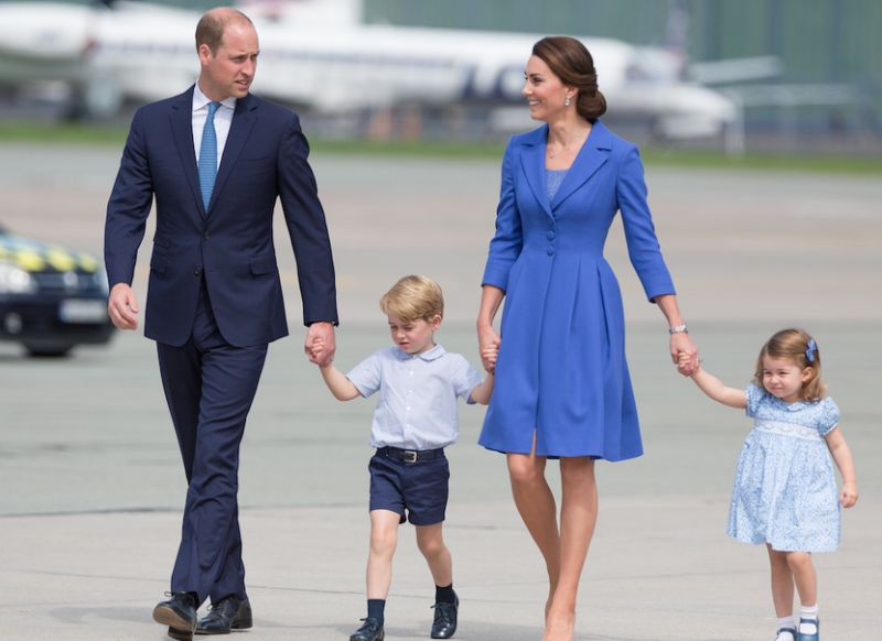 The Royal Family always has to pack an extra outfit for a super sad reason Photo C GETTY IMAGES