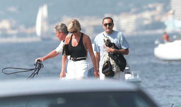 Mr Gourmelon performed CPR and revealed Diana started breathing again Photo C GETTY
