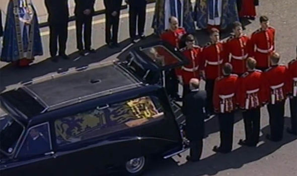 The story aired in ITV's news documentary Diana The Day Britain Cried Photo (C) ITV