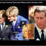 The sweet way Princess Diana told William about Charless affair