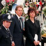 Tony Blair at Princess Dianas funeral Photo C GETTY