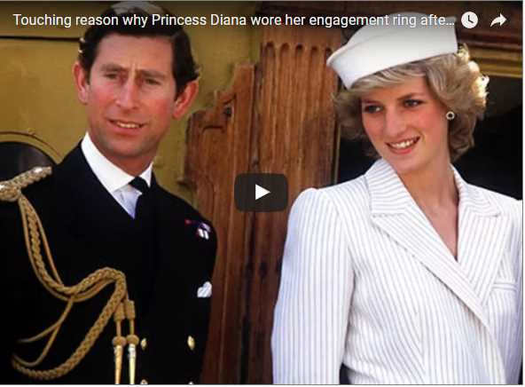 Touching reason why Princess Diana wore her engagement ring after separating from Charles