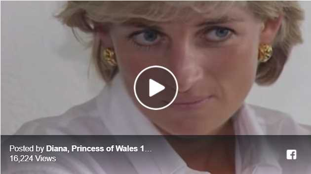 Watch Video Bosnians recall Princess Dianas last official trip contains unseen footage 1