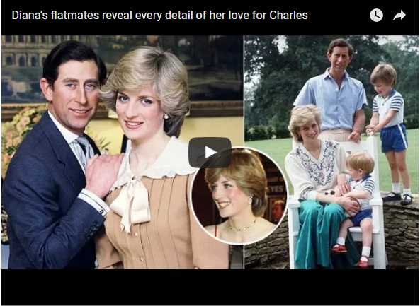 Watch Video Dianas flatmates reveal every detail of her love for Charles