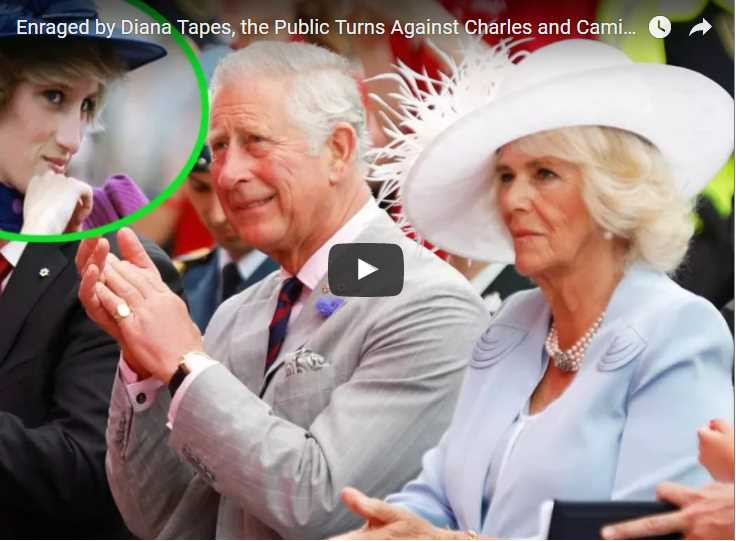 Watch Video Enraged by Diana Tapes the Public Turns Against Charles and Camilla