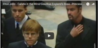 Watch Video Tribute to Princess Diana Candle in the Wind