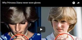 Why Princess Diana never wore gloves