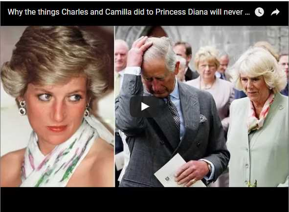 Why the things Charles and Camilla did to Princess Diana will never forgotten