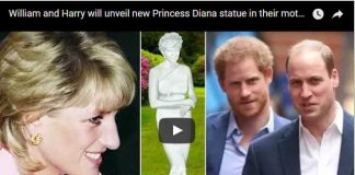 William and Harry will unveil new Princess Diana statue in their mother's former home