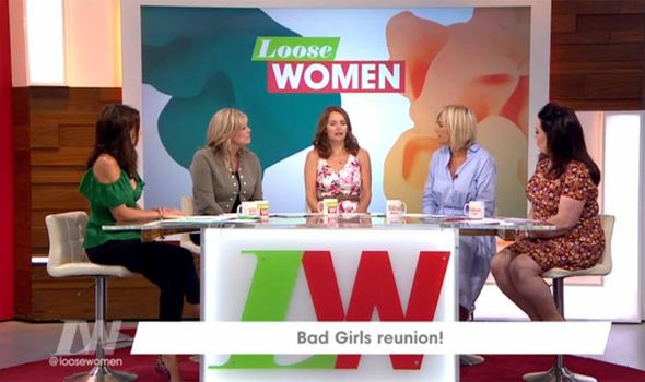 The Loose Women panel discussed Princess Diana's death Photo (C)ITV