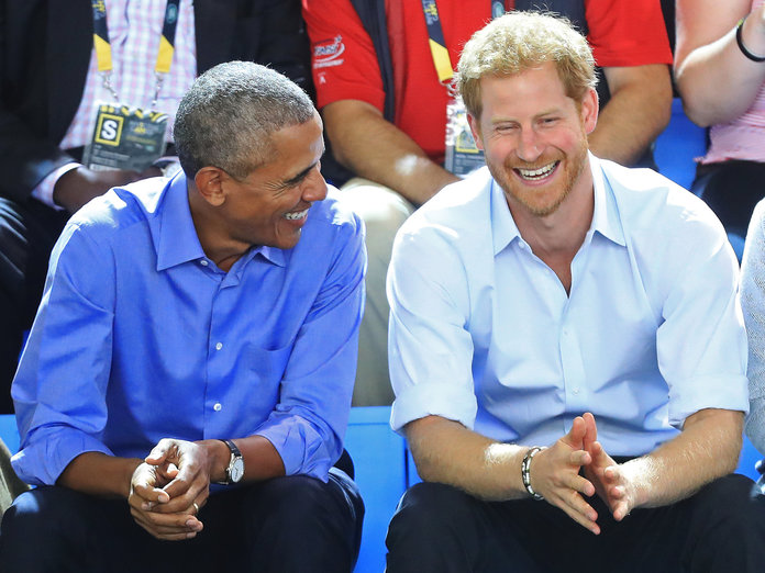 04 Prince Harry and Barack Obama Have the Best Time Together at the Invictus Games Photo C CHRIS JACKSON GETTY