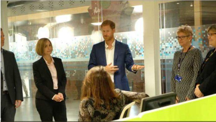 Prince Harry said the news was fantastic Photo (C) KENSINGTON PALACE