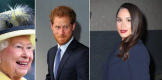 3 Queen Elizabeth Prince Harry Meghan Markle Photo C GETTY IMAGES