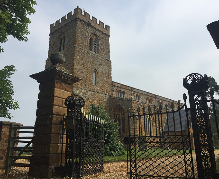 The area where claims have suggest Diana is really buried inside St Mary the Virgin church, Great Brington Photo (C) DAILYSTAR, NICHOLAS BIEBER